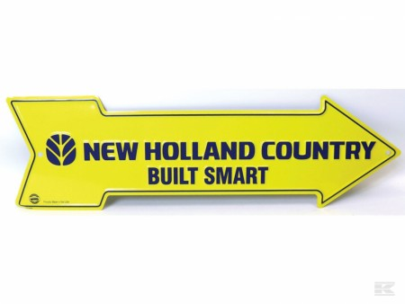 "Skilt pil ""New Holland Country """