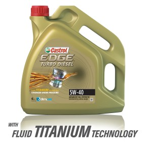 Castrol Edge Turbo Diesel 5W-40, 4LT