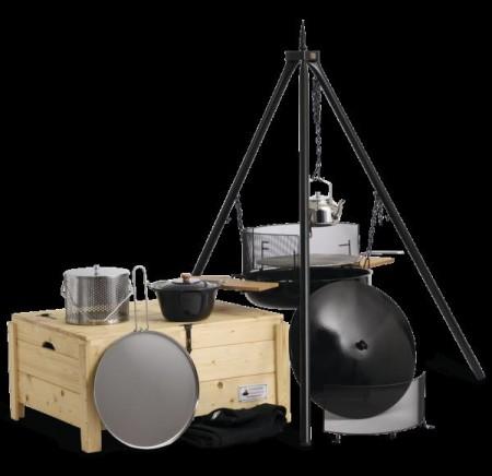 Bålpanner og utstyr