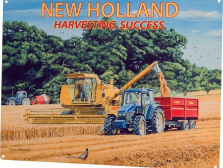 """New Holland harvesting success"""